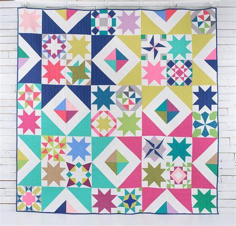 Modern Patchwork Quilt Patterns - starlight sler quilt kit quilt kits and quilt