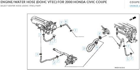 diagram of a hoe throttle hose honda tech