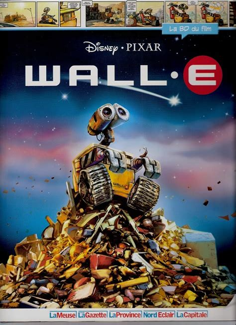 film wall e adalah disney la bd du film 16 wall e