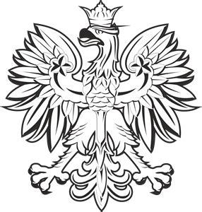 polish eagle coloring page orzeł logo vectors free download