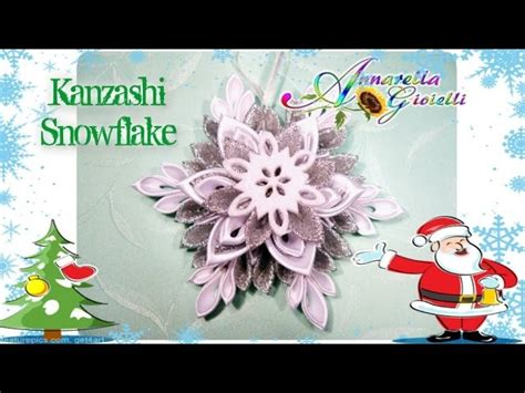 tutorial angelo quilling tutorial kanzashi snowflake fiocco di neve