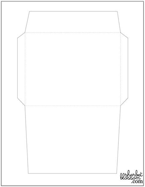 printable paper envelope pattern 29 best scrapbooking images on pinterest applique
