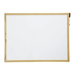 Whiteboard Murah 60cm X 2 Meter officeworks j burrows timber pine whiteboard 45 x 60cm compare club