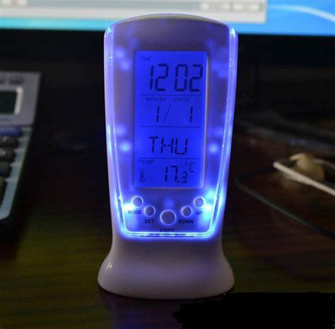 Alarm Tidur jam digital multifungsi jam alarm sekaligus lu tidur unik dengan berbagai fungsi harga