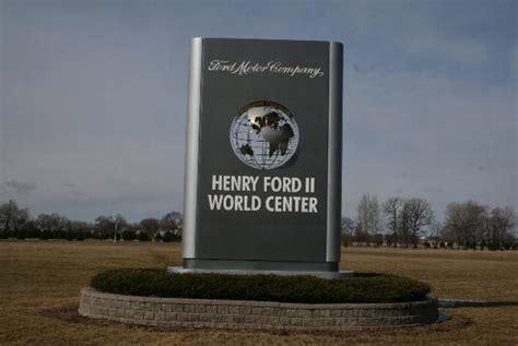ford sede sede mundial da ford miniford