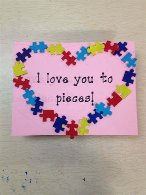 crafts for with autism autism valentines craft teaching crafts