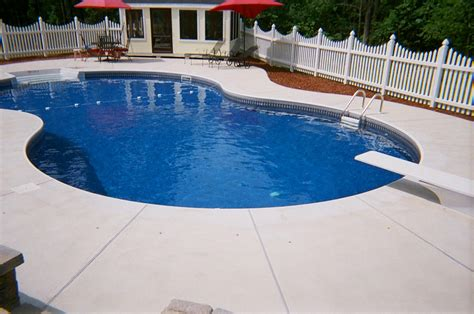 inground pool ideas beautiful inground pools azee