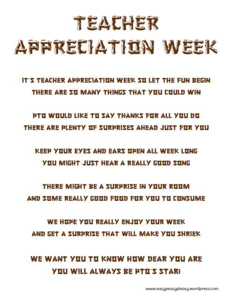 letter to parents appreciation week how to show appreciation in a big way easy