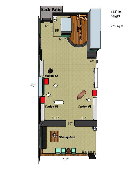 shop floor plan tattoo shop floor plan www pixshark com images