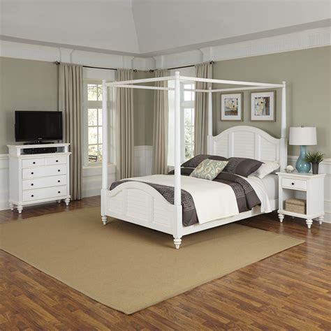 white canopy bed sears