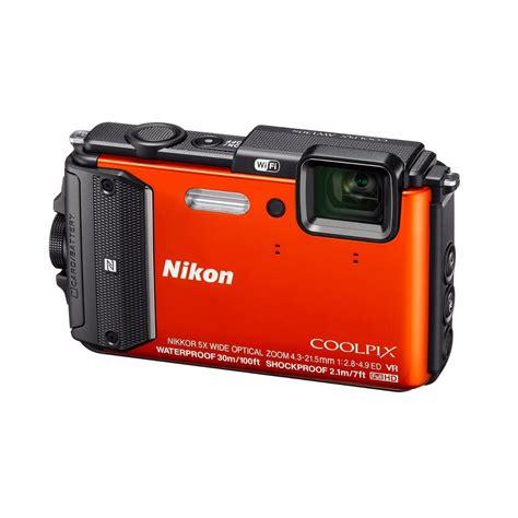 camara digital sumergible c 225 mara digital sumergible coolpix aw130 nikon naranja 16