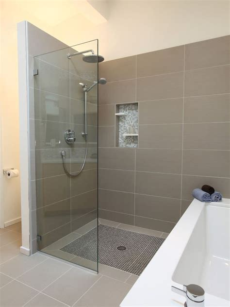 bathroom remodel ideas walk in shower learn the pros and cons of a walk in shower
