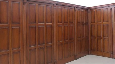 Mahogany Wainscoting Panels by Mahogany Wall Paneling Piano Bar Room Wood Panel