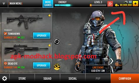 mod game frontline commando d day flc2 hack unlimited money download