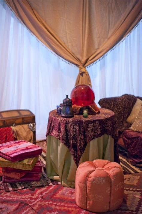 Fortune Teller Room by Tablecloths And Tent On