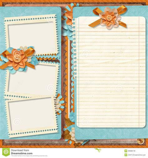 free scrapbook template 16 design digital scrapbook templates images digital