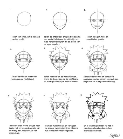tutorial naruto drawing naruto tutorial by sie tje on deviantart