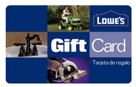 lowe s home improvement gift cards