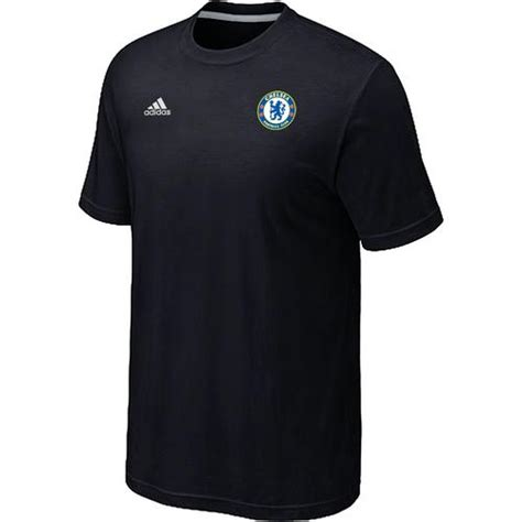 Chelsea Black Shirt adidas chelsea soccer t shirts black shop buy more