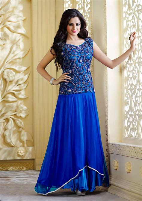 dress design royal blue royal blue frocks ladies dress design 2461 fashion