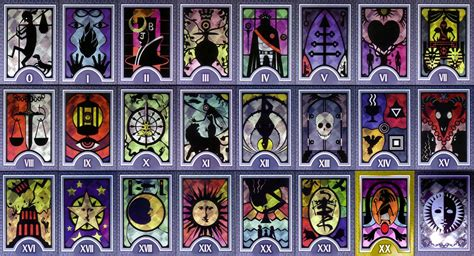 make tarot cards persona tarot cards cleaned up and organized for your