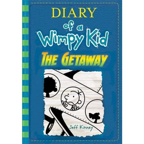 pictures of jeff kinney books the getaway diary of a wimpy kid book 12 hardcover