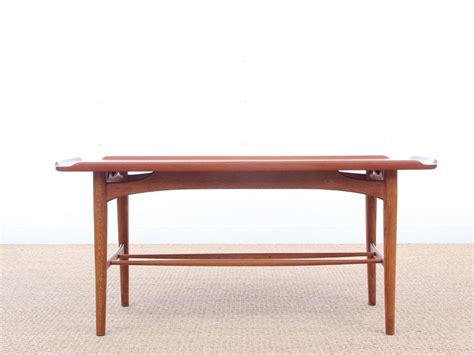 mid century teak table l mid century modern coffee table in teak galerie m 248 bler