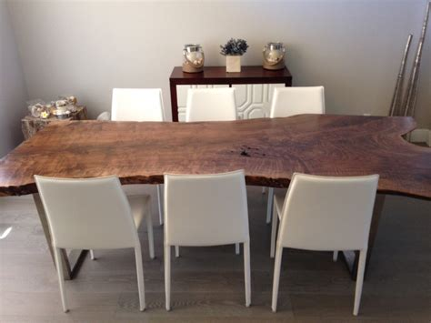 Live Edge Dining Room Table Live Edge Table Live Edge Dining Table Walnut Dining Table Item 27