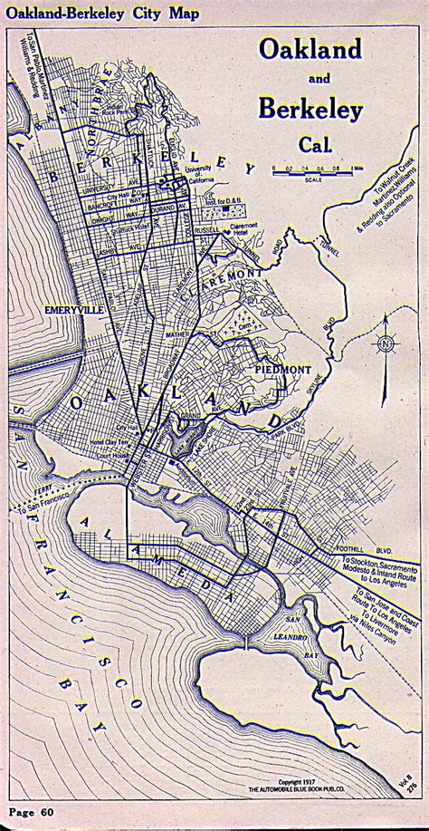 oakland california map alameda county california maps and gazetteers