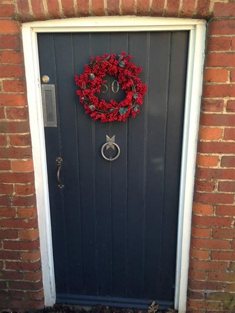 Berry Door by Pin By Farrow On Festive Front Doors