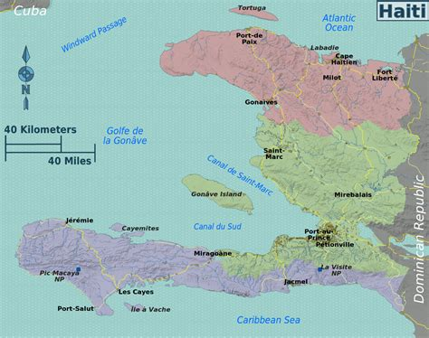 america map haiti map of haiti overview map regions worldofmaps net