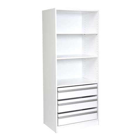 Wardrobe Drawer Insert by Multi Store 1650 X 608 X 450mm 2 Shelf 3 Drawer Wardrobe