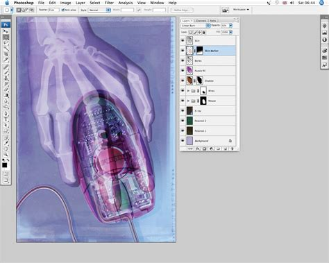 tutorial x ray photoshop cs3 photoshop tutorial fake x ray effects digital arts