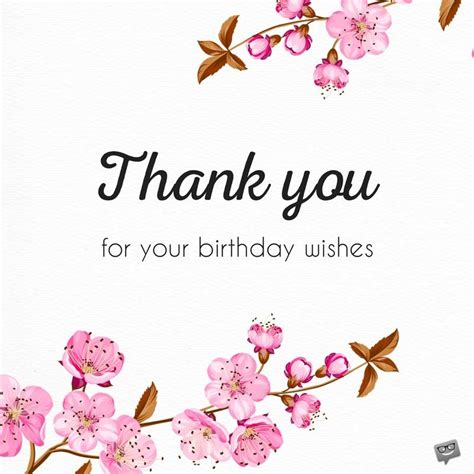 thank you letter to for birthday wishes 65 thank you status updates for birthday wishes