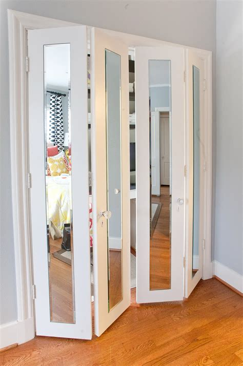Bi Pass Closet Doors Mirrored Bi Pass Closet Doors Home Design Ideas