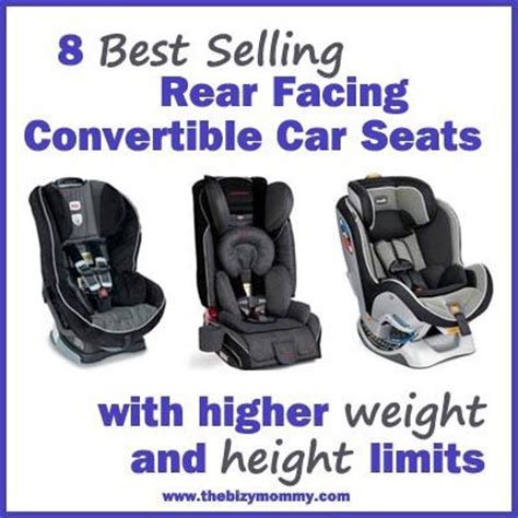 8 best selling rear facing convertible car seats with