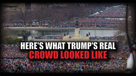 Picture Of Inauguration Crowd by This Should Settle All The Rumors Here S What Trump S
