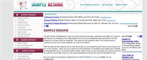 top resume building