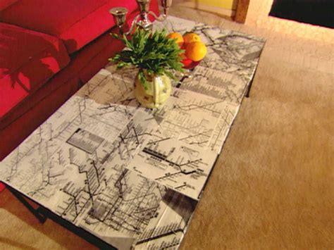 Modern Decoupage - decoupage ideas for furniture easy crafts and
