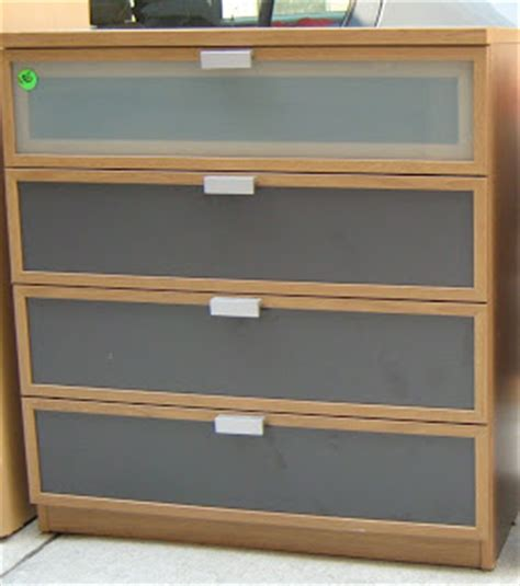 Ikea Glass Dresser by Ikea Glass Front Chests Of Drawers Sold Soloshrinks