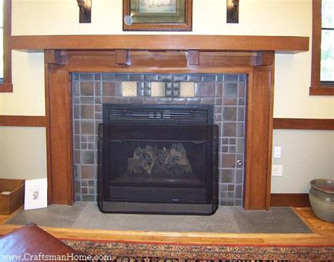 seven craftsman fireplace mantels that will make you drool