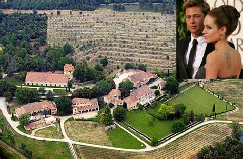 angelina jolie mansion brad pitt angelina jolie s chateau miraval in france