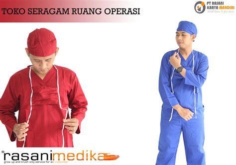 Jas Dokter Dua Saudara Laki Laki Lengan Panjang distributor baju oka rumah sakit rasani medika