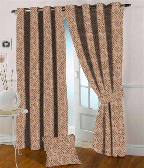 where to buy orange curtains presto orange colour abstract jacquard door curtain buy