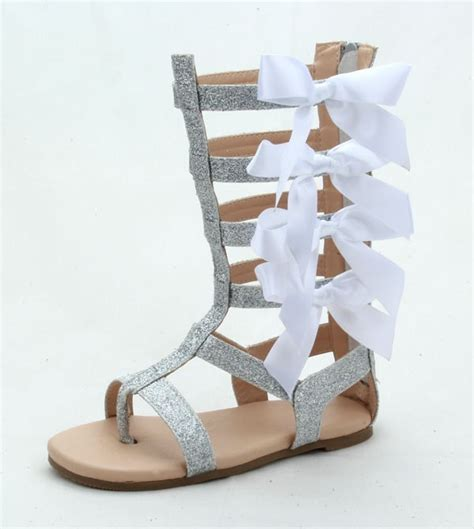 gladiator sandals for toddlers knee high flat toddler gladiator sandals