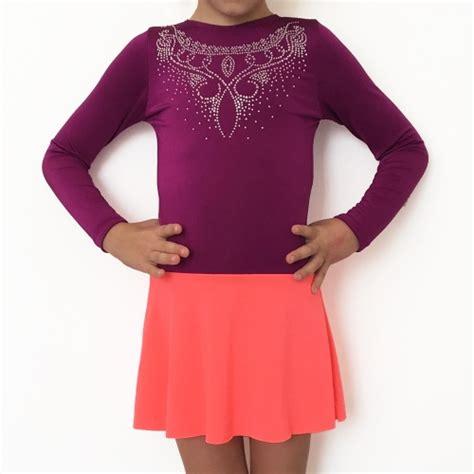 Sleeve Skirt Baby Leotard purple leotard baby chic with mesh skirt and sleeve