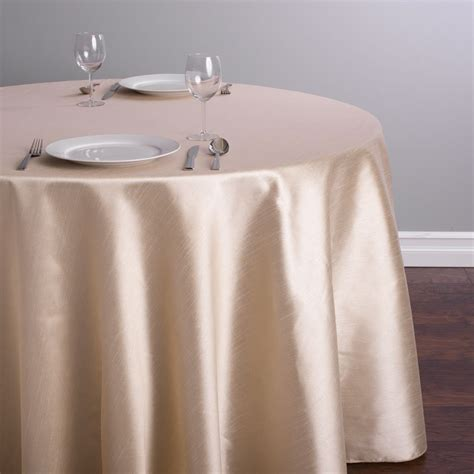 linen like round table covers 90 x 156 in rectangular pintuck tablecloth