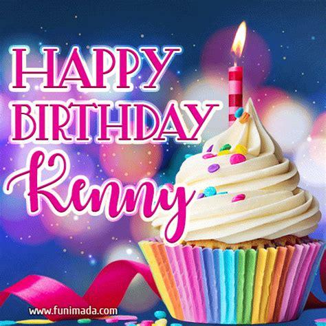 happy birthday kenny lovely animated gif