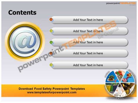 Food Safety Powerpoint Templates Templatesforpowerpoint Com Food Safety Powerpoint Template
