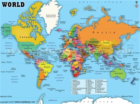 printable world map  countries labeled  travel